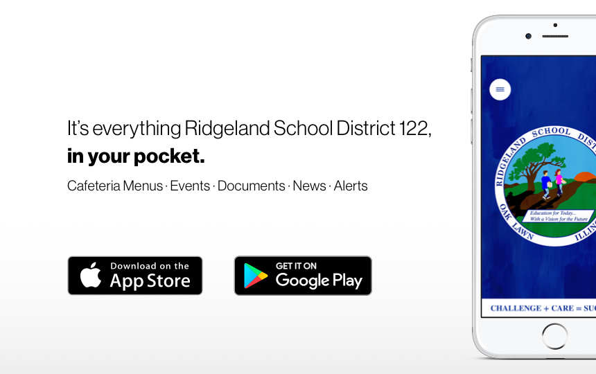 Announcing Ridgeland School District 122's new app